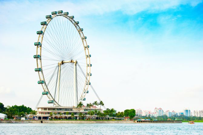 1. SG50 Awesome August @ Singapore Flyer