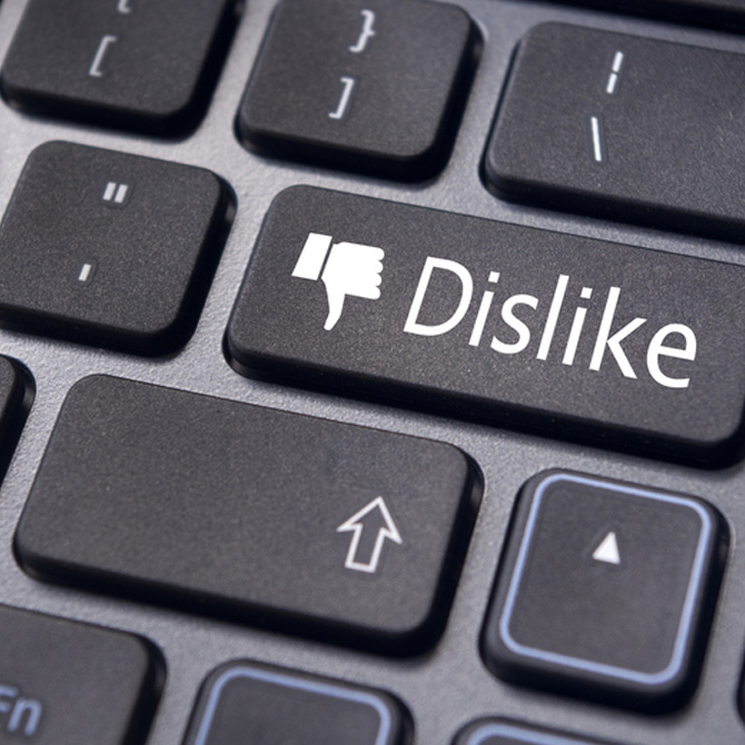 There is a risk of cyberbullying
