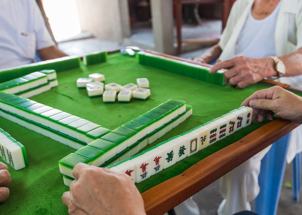 We only know how to play mahjong