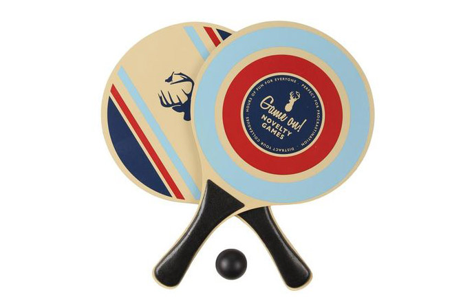 5. Paddy Wack Table-Tennis Racquets with Ball, $7.50
