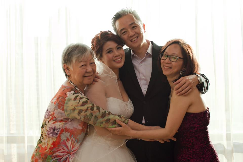 Jane Ho, 72, mother of three and grandmother of three