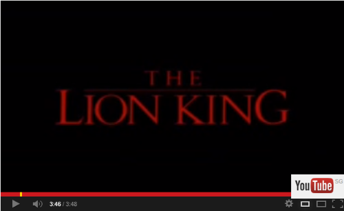 The Lion King - Year 1994