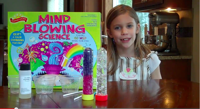 For the pre-primary group: Scientific Explorer's Mind Blowing Science Kit