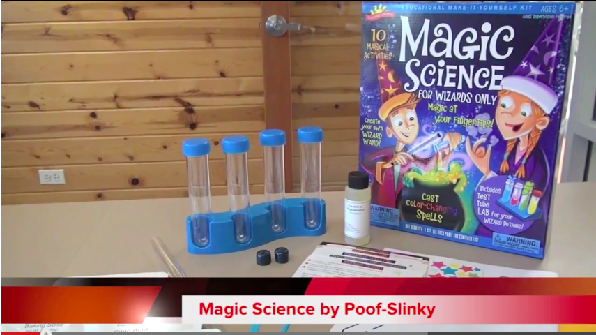 For the primary schoolers: Magic Science for Wizards Only