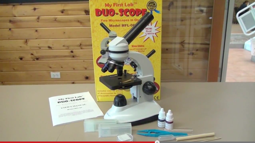 For the older kids: My First Lab Duo-Scope Microscope