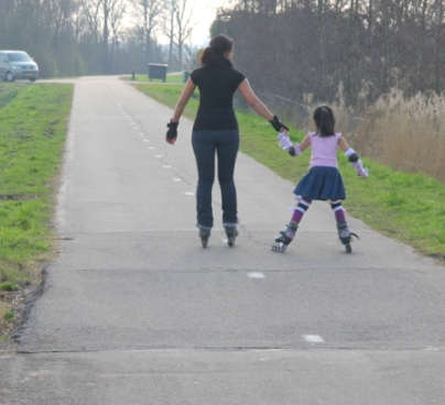 5) Learn rollerblading or cycling or swimming