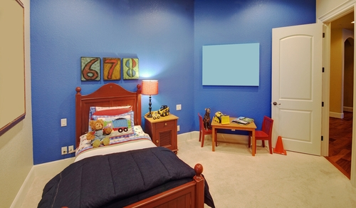 6) Plan with your parents and redecorate your room