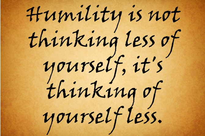 Grace and humility when you find out you won