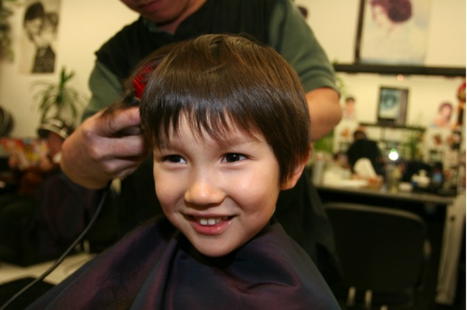 Where to get haircuts for kids in Singapore