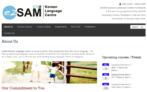 EzSAM Korean Language Centre