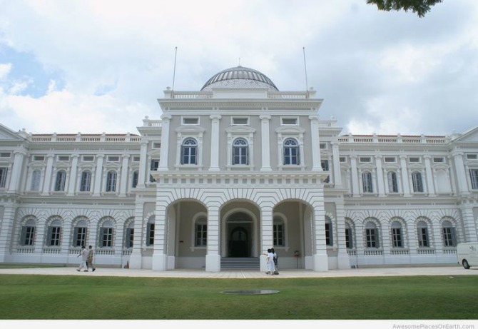 1. The National Museum of Singapore