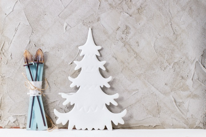 Cut-out tree