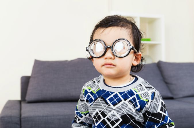 Spectacles are the first fashion accessories you buy your toddler.