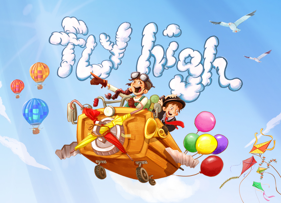 Fly High by Singapore Repertory Theatre