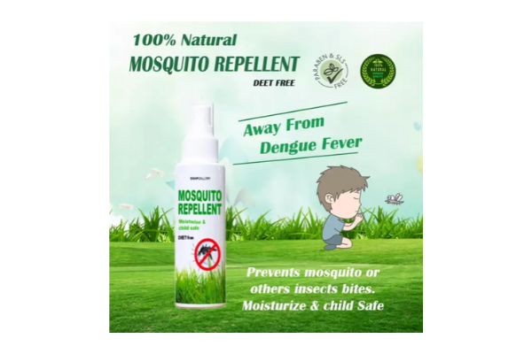 SoapGallery 100% Natural Mosquito Repellent