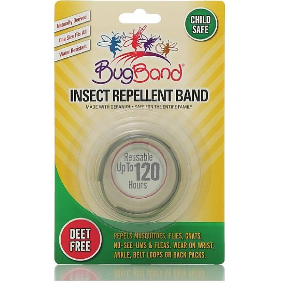 Bugband Wristband Insect Repellent Assorted Colors (3 Pack)