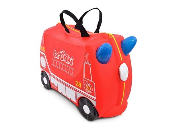 Trunki - Fire Engine Frank Ride on Suitcase