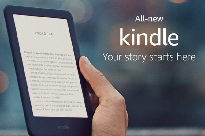 All-new Kindle - Now with a Built-in Front Light