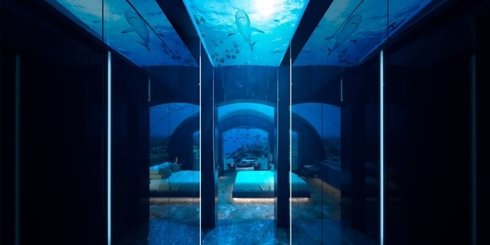 Staying At The First Underwater Villa In The World Costs RM200,00 Per Night - And Only 3 People Have Stayed There So Far!