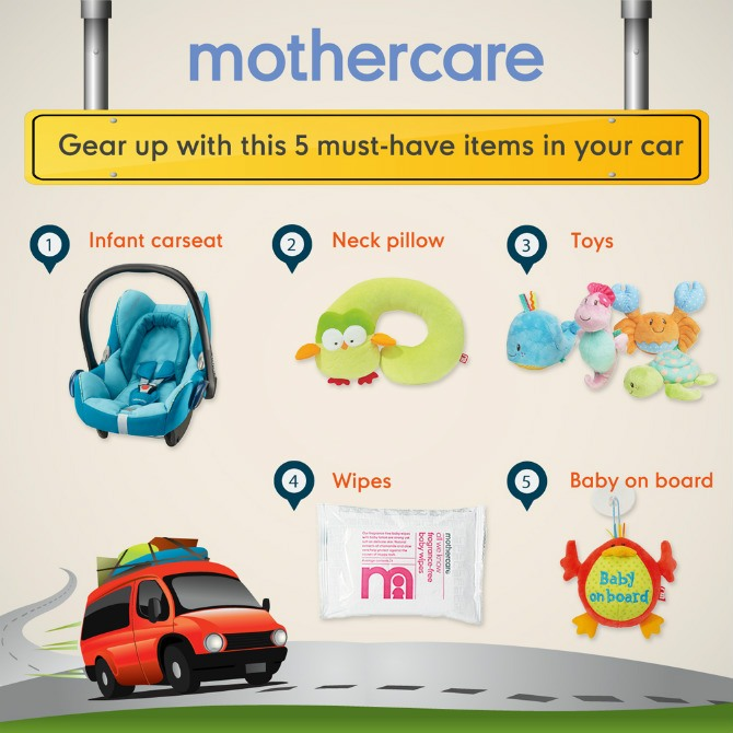 Mothercare Traveling Gear