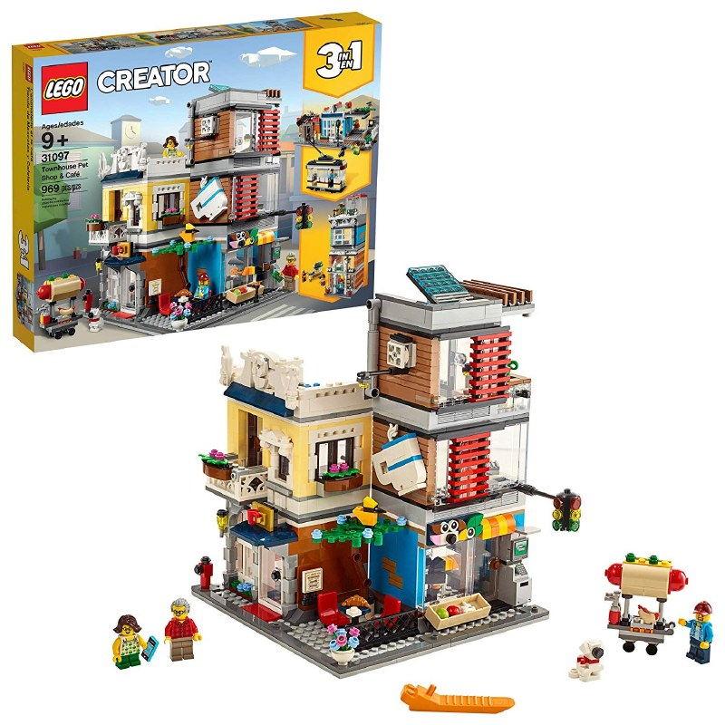 Lego Creator 3In1 31097 Townhouse Pet Shop & Cafe