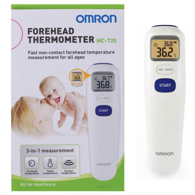 OMRON Digital Forehead Thermometer MC720