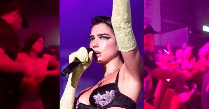 Dua Lipa In Tears After Fans Are Dragged Out Of Shanghai Concert