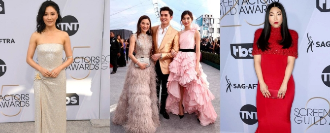 SAG Awards 2019: The Cast Of 'Crazy Rich Asians' Slays At The Red Carpet