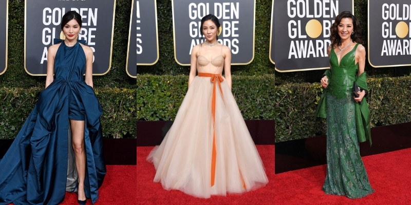 Crazy Rich Asians Turn Up The Heat At Golden Globes 2018