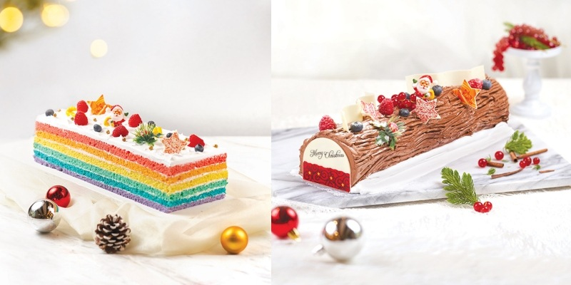 Where to get delectable and festive log cakes in Singapore