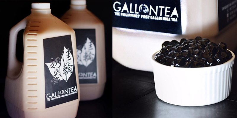 Milk tea lovers can enjoy A GALLON of pearl milk tea anytime they want!