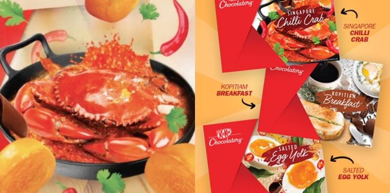 Now you can enjoy chilli crab KitKat for a limited time only!