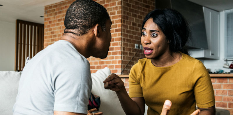 Your says things hurtful wife when A Shocking