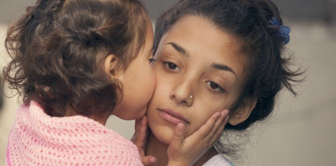 The toughest part of being a mum
