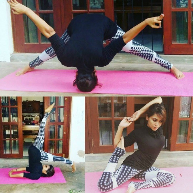 Sri Lankan supermum Miuru Jayaweera on yoga, raising boys and more!