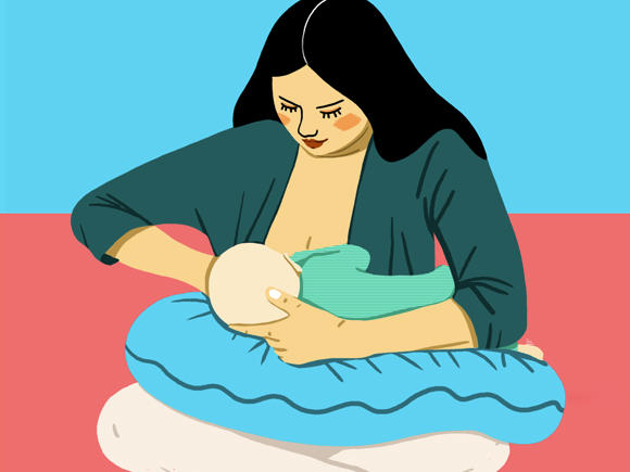 the best breastfeeding position