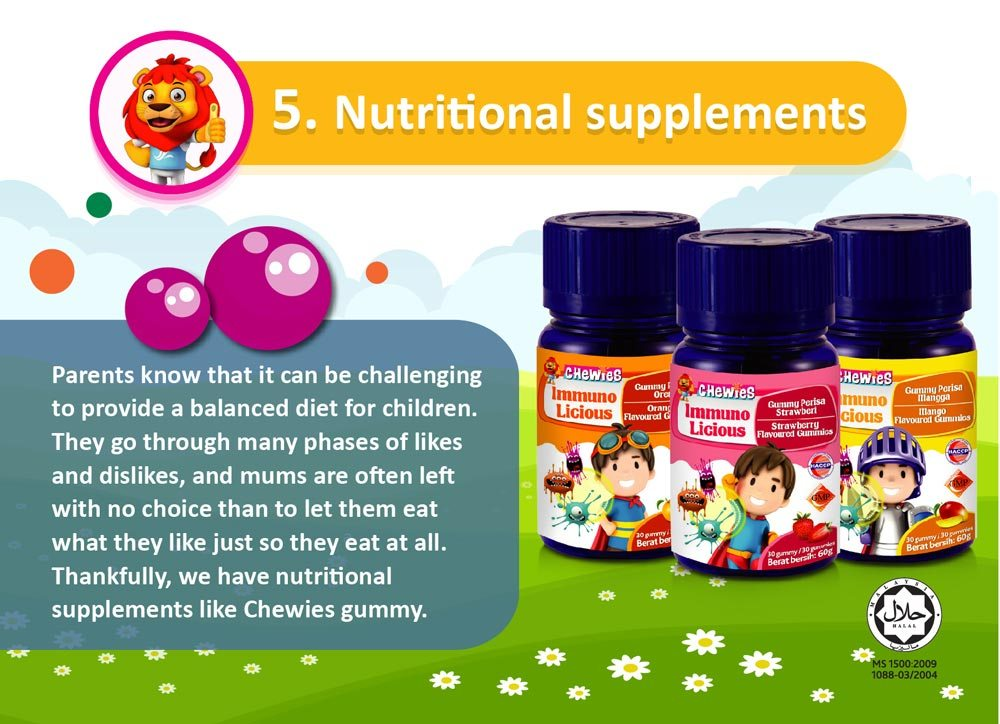 Increase child immunity | Nutritional supplements