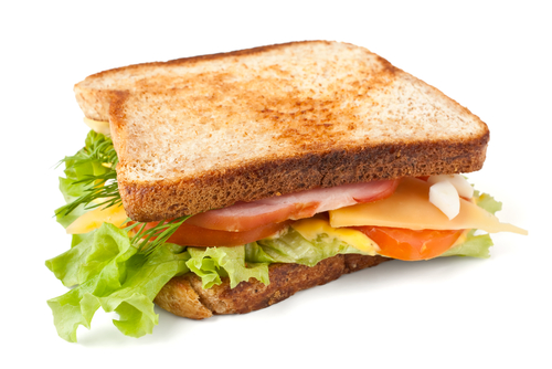 16. Peanut butter with Mayo Sandwich