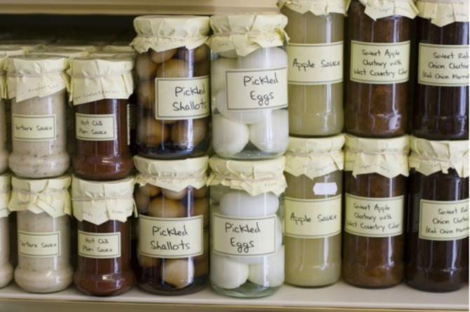8. Pickled eggs and beets