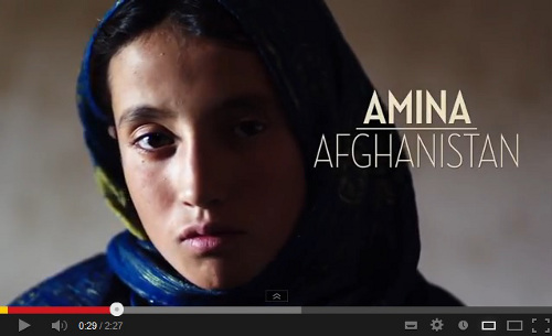 Amina from Afghanistan