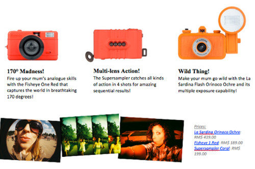 11) Fiery cameras for passionate mums
