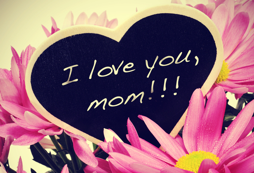 2) Pretty flowers for a beautiful mother