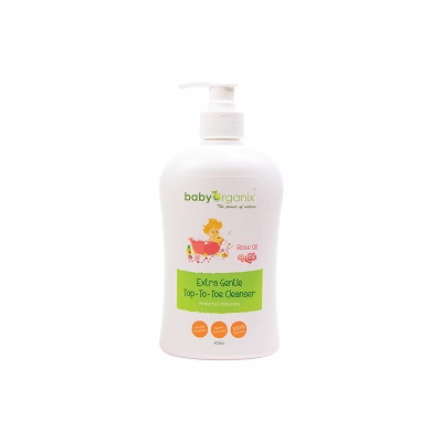 Baby Organix Top To Toe Cleanser Bath