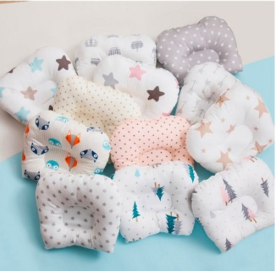 Baby Head Shaping Nursing Pillow Cotton Protection From Flat
