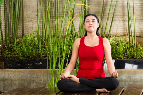Goodbye to postnatal fat and depression with yoga