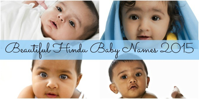 Beautiful Hindu baby names for 2015