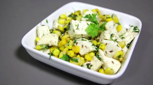 src=https://www.theindusparent.com/wp content/uploads/sites/9/2014/12/paneer and corn salad.jpg 5 Paneer Recipes for Kids Which You Must Try!