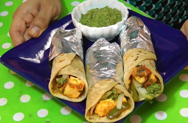 src=https://www.theindusparent.com/wp content/uploads/sites/9/2014/12/paneer roll.jpg 5 Paneer Recipes for Kids Which You Must Try!