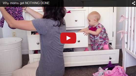 This is why mothers get nothing done all day - Funny video!