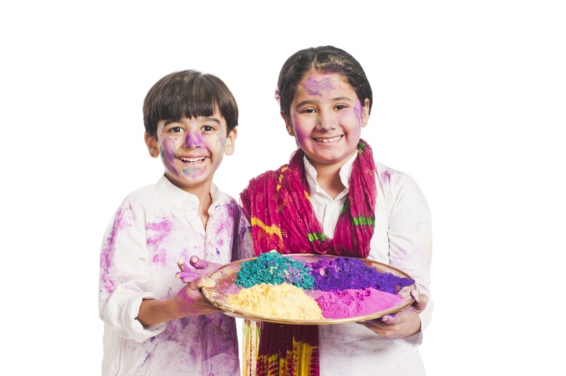 How to celebrate a safe and healthy Holi festival with your kids